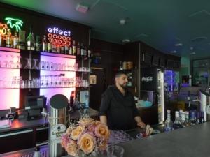 Bar von El-Palacio. In unserer Bar finden sie eine grosse Auswahl erlesener Getraenke. Egal ob Longdrink, Cocktails, leckere Weine oder Schnaps und Likoer.