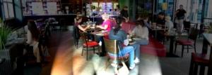 Im Restaurant des El-Palacio verwoehnen wir sie mit frischen Speisen